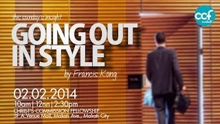 Going Out In Style - Francis Kong