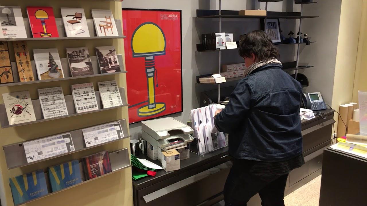 Eröffnung Bauhaus Shop Weimar Youtube