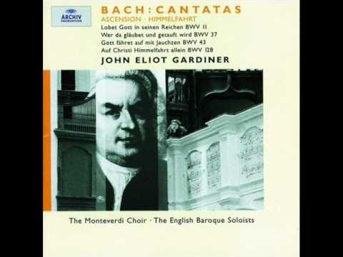 J S Bach  Aria from Wer da gläubet und getauft wird BWV 37 Anthony Rolfe Johnson