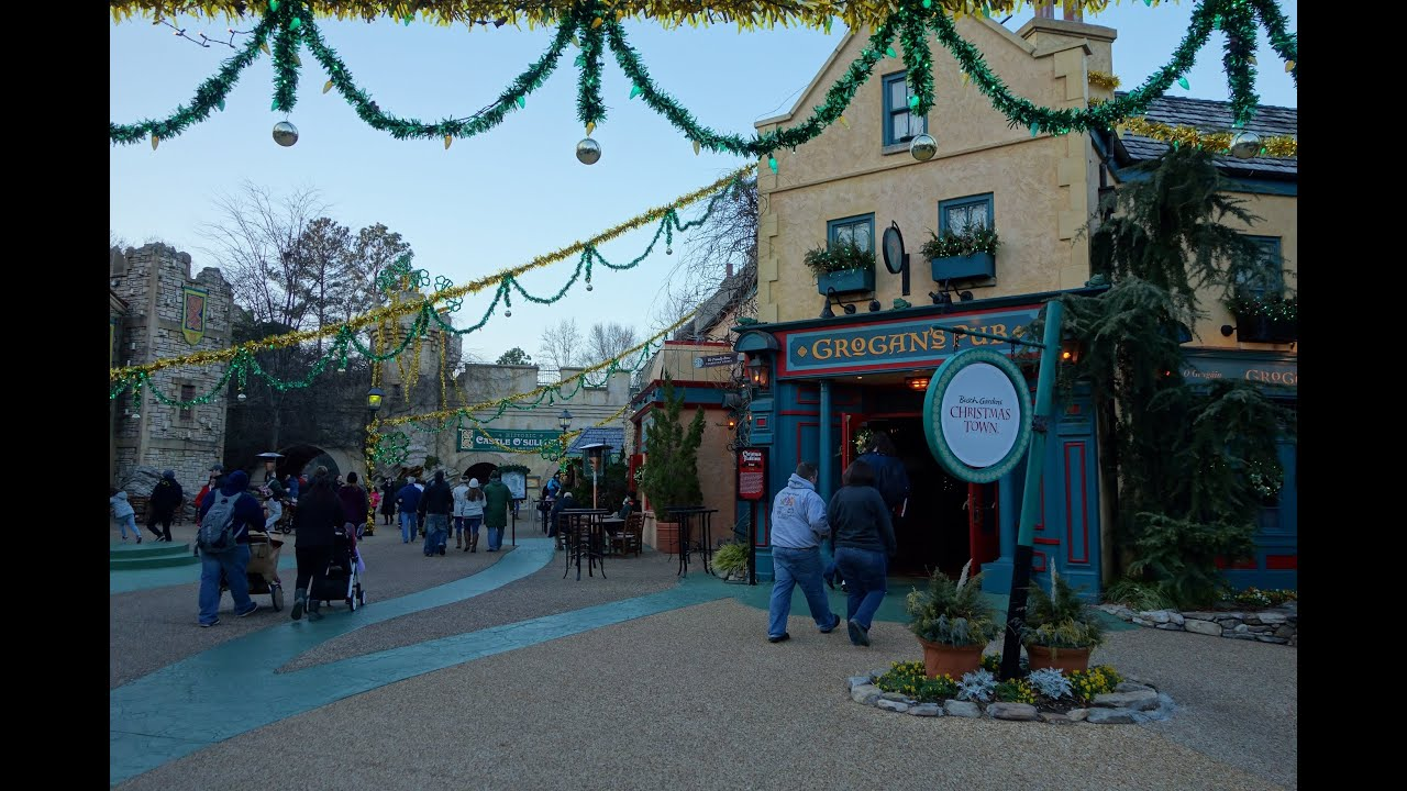 Williamsburg Va Busch Gardens Town Garden Ftempo