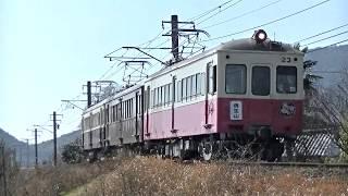 琴電レトロ電車特別運行2020.2.23