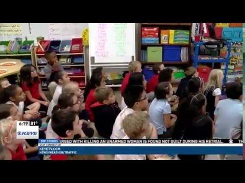 Eden Park Academy 2nd Grade on KEYE-TV at 6pm | April 7, 2016