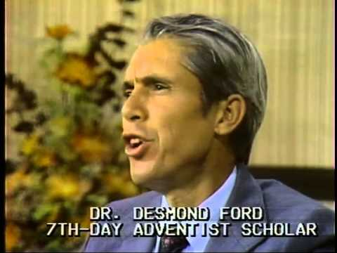 Seventh Day Adventism: at the Crossroads, Desmond Ford