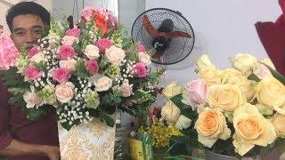 Hướng Dẫn Cắm Hoa Sinh Nhật Nghệ Thuật Năm 2019 ||hoadaiduong.com