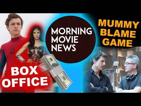 SpiderMan Homecoming Box Office Predictions, Tom Cruise blamed for The Mummy