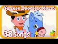 Yankee Doodle | +37More Kids Songs | 38Mins Popular English Nursery Rhymes Collection by Magicbox