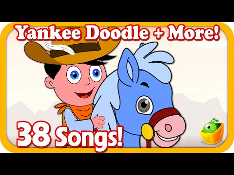 Yankee Doodle Doo| +37More Kids Songs | 38Mins Popular English Nursery Rhymes Collection by Magicbox