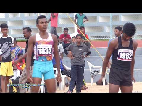 BOYS U19  100m  RUN FINAL.  60Th TAMIL NADU STATE REPUBLIC DAY SPORTS MEET  - 2017-18