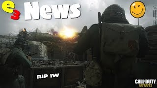Call Of Duty: World War 2 E3 News RoundUp! Multiplayer Reveal, Weapons, BETA & Zombies?!