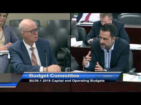 Q&A re: OMB reform. Toronto Budget Committee. Dec 14, 2017