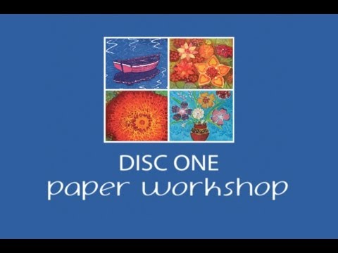 Batik Workshop • Fun With Paper And Fabric (DVD) - Disc One: Working On Paper