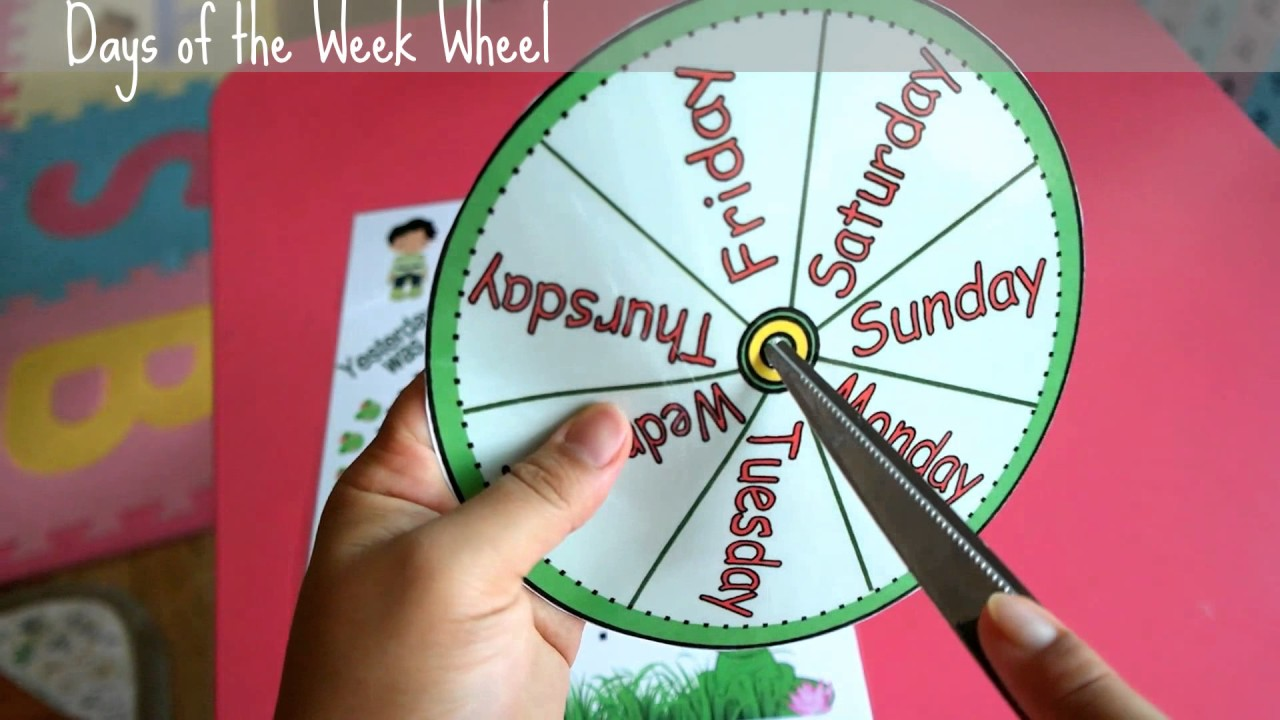Days Of The Week Activities Games Worksheets And Lesson Plans