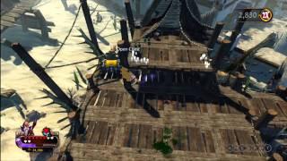 Crimson Alliance - More Sand level Gameplay (Xbox 360)