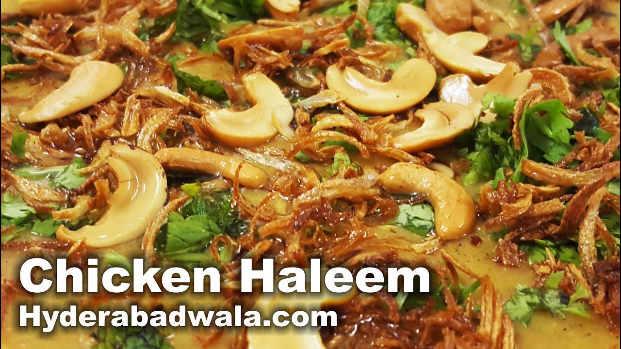 Chicken haleem recipe video how to make hyderabadi murghi ki chicken haleem recipe video how to make hyderabadi murghi ki haleem at home easy simple youtube forumfinder Gallery