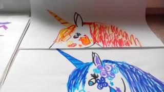 Лошади-мои рисунки