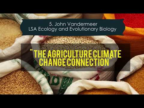 """The Agriculture Climate Change connection"" Tiny Talk by John Vandermeer"