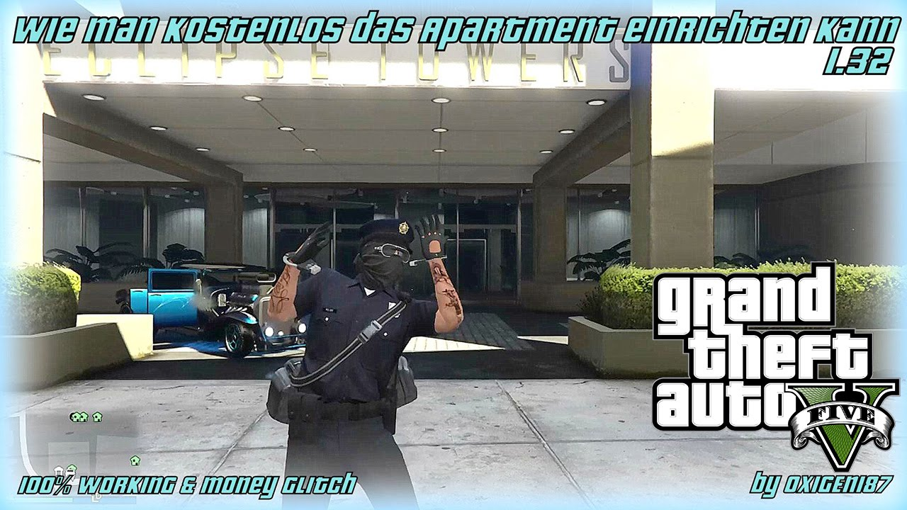 gta 5 online wie man kostenlos das apartment einrichten kann youtube. Black Bedroom Furniture Sets. Home Design Ideas