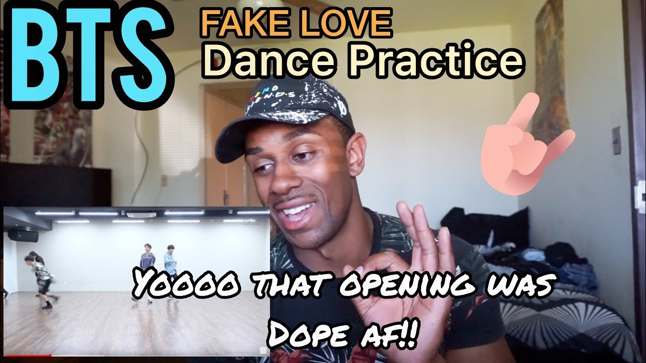 BTS (방탄소년단) 'FAKE LOVE' Dance Practice REACTION - James