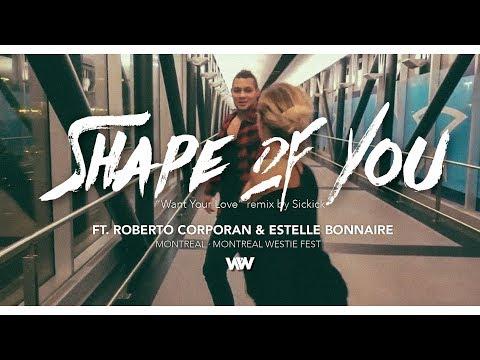 Roberto Corporan & Estelle Bonnaire west coast swing improv Montreal, QC, Canada