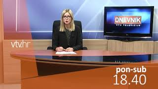 VTV Dnevnik najava 08. prosinca 2018.