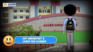 Leben in Kota: Ein Schüler Disziplinierte, tägliche Routine