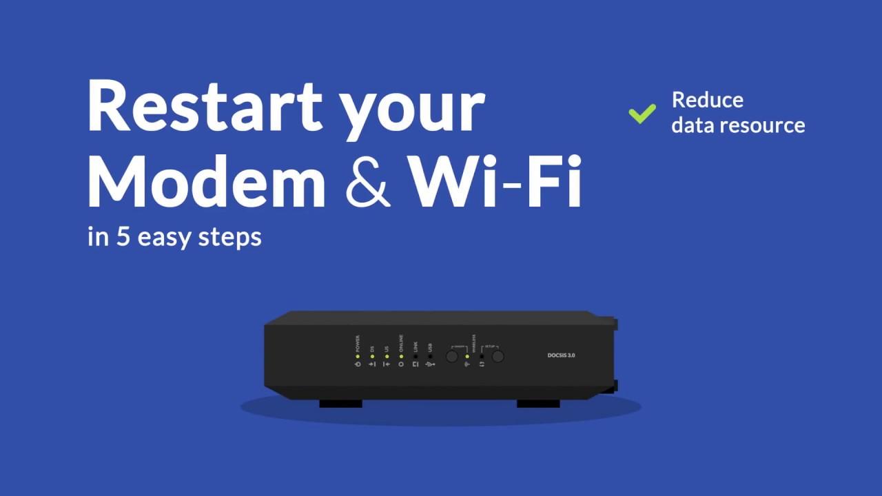 Tutorial Restart Modem Wifi Router First Media Youtube