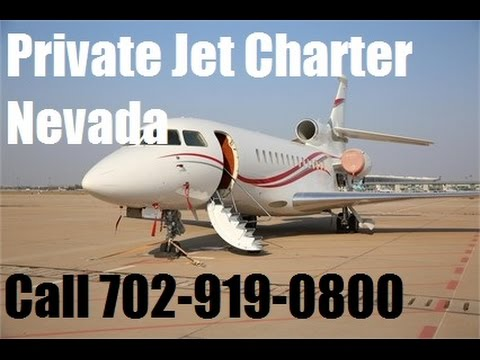 Private Jet Charter Flight Service From or To Las Vegas, Reno Nevada Aircraft Plane
