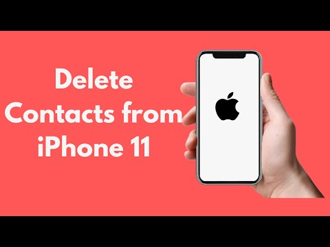 Using this simple tutorial, you can delete all contacts in your iPhone in just 3 steps! Make sure yo.