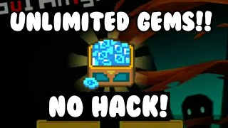 How to get UNLIMITED GEMS for soul knight!!(NO HACK)