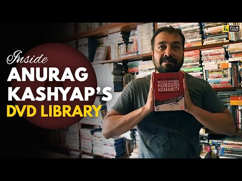 A Tour Inside Anurag Kashyap's DVD Library | Film Companion