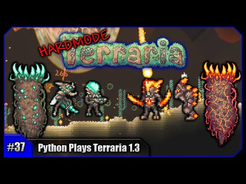 Python Plays Terraria || Solar & Vortex Pillars & New Weapons! || Terraria 1.3 PC Let's Play [#37]