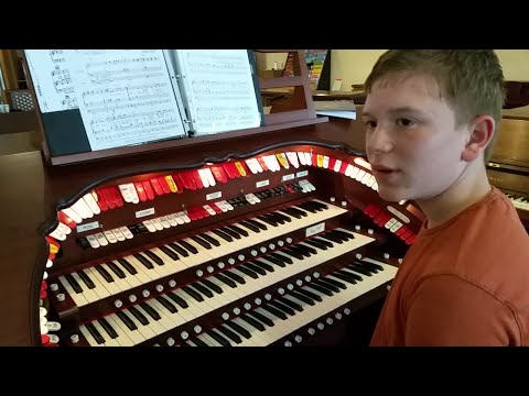 Young Theater Organist