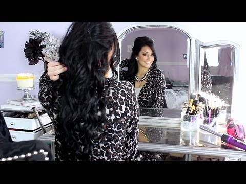 How i clip in my bellami hair extensions ciao bella 3 in how i clip in my bellami hair extensions ciao bella 3 in one curler youtube pmusecretfo Gallery