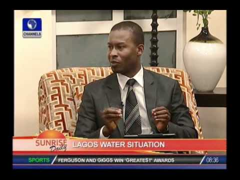 SUNRISE DAILY: Shayo Holloway on water situation in Lagos