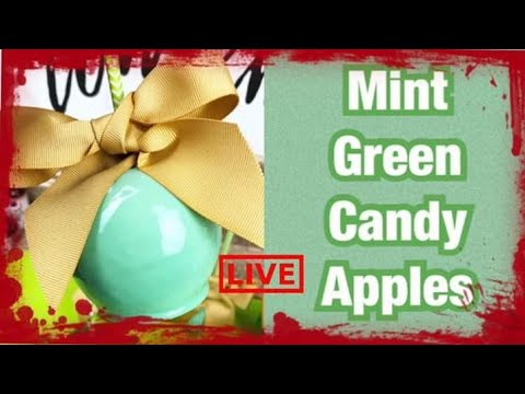 HOW TO ACHIEVE MINT GREEN CANDY APPLES
