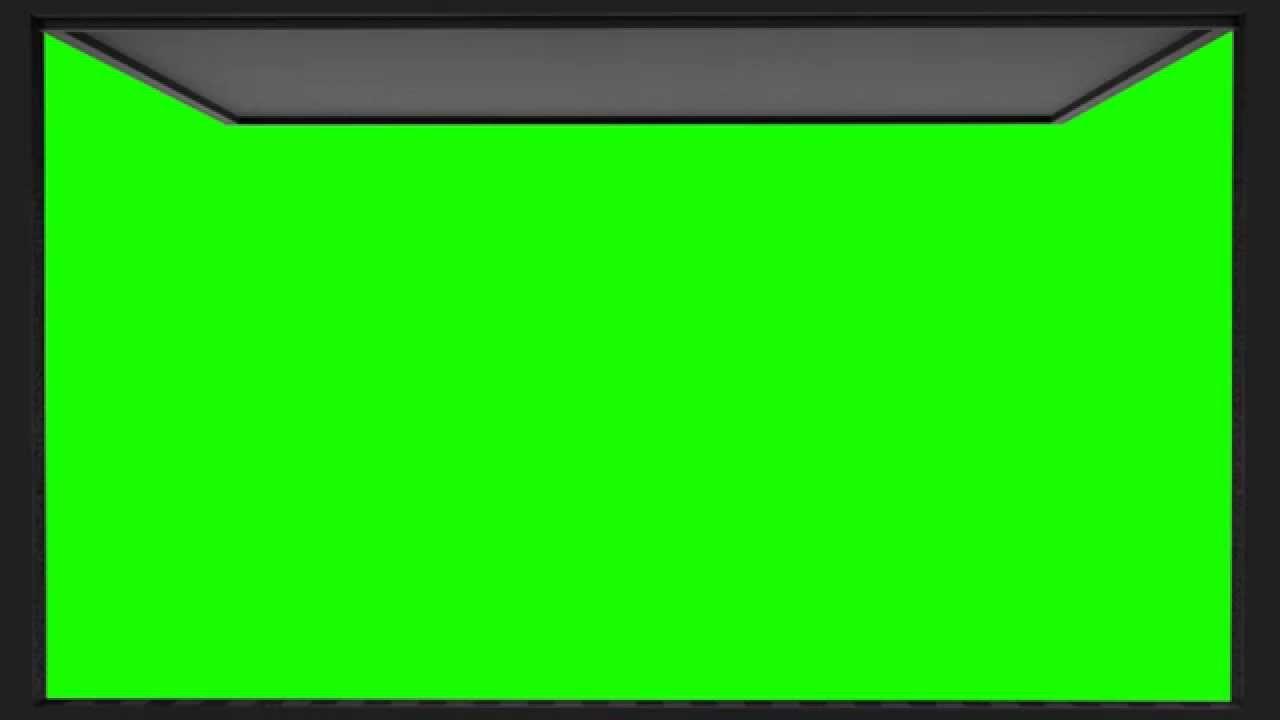 Black Garage Door Open Animation In Green Screen Youtube