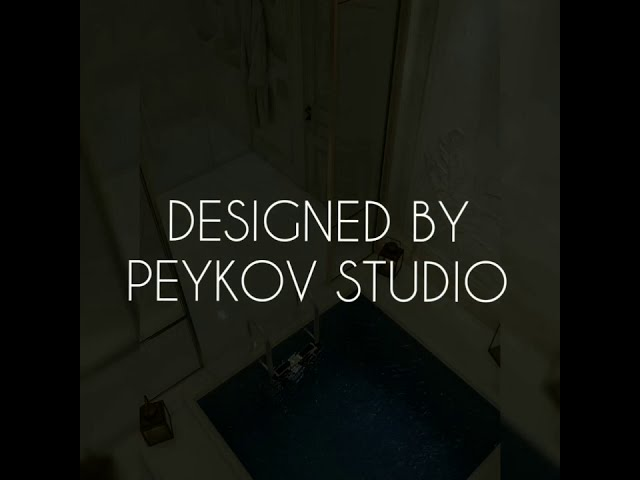 Дизайн современного банного комплекса от #PEYKOVSTUDIO