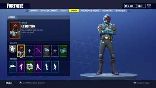 I HAVE THE SKIN SUPERPRODUCTION ON FORTNITE!!!!