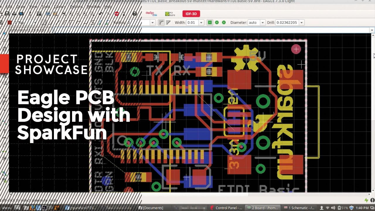 Eagle PCB Design with SparkFun! - YouTube