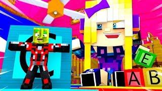 KANNST DU uns SEHEN?! - Minecraft MIKRO BATTLE