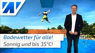 Wetter: Heißes Badewetter in ganz Deutschland!