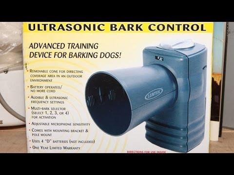 ultrasonic-bark-control