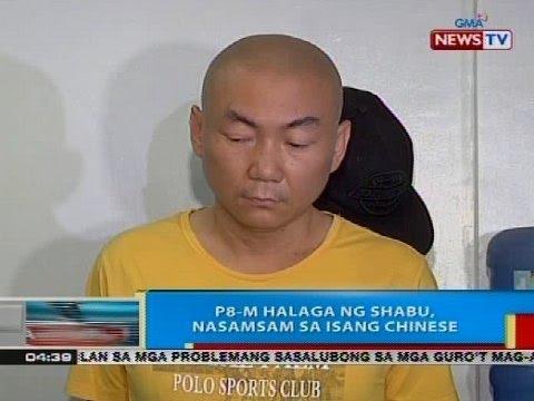 BP: P8-M halaga ng shabu, nasamsam sa isang chinese