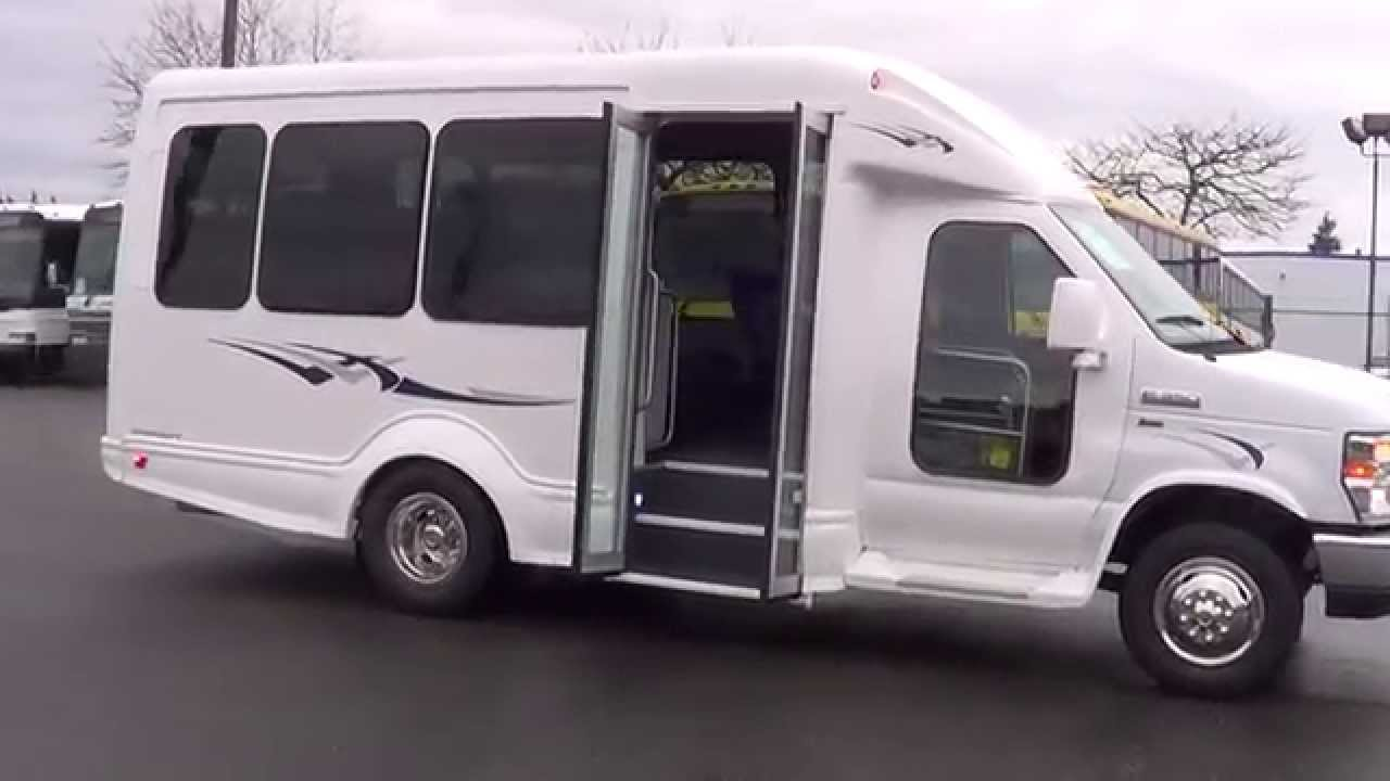 northwest bus sales new 2014 ford starcraft starquest 14 passenger bus for sale s46467 [ 1280 x 720 Pixel ]