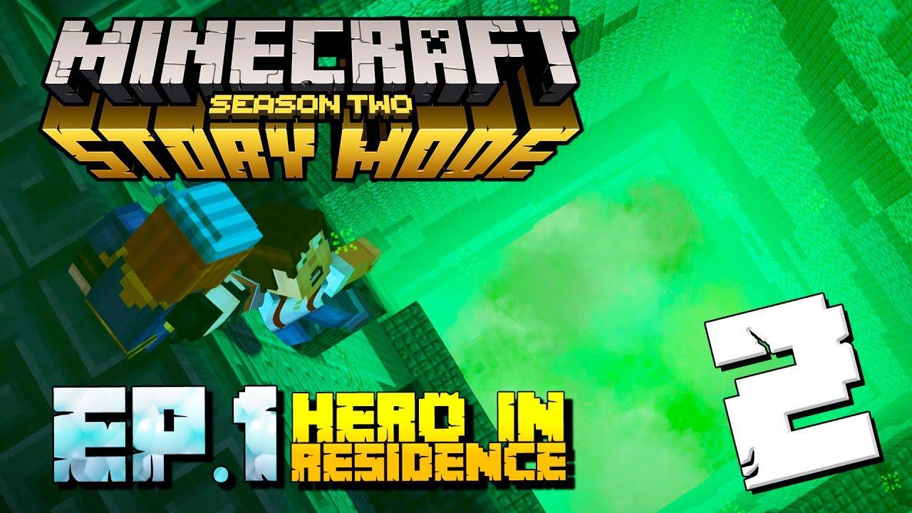 Minecraft Story Mode Season 2 Gameplay Part 2 Episode 1 Hero