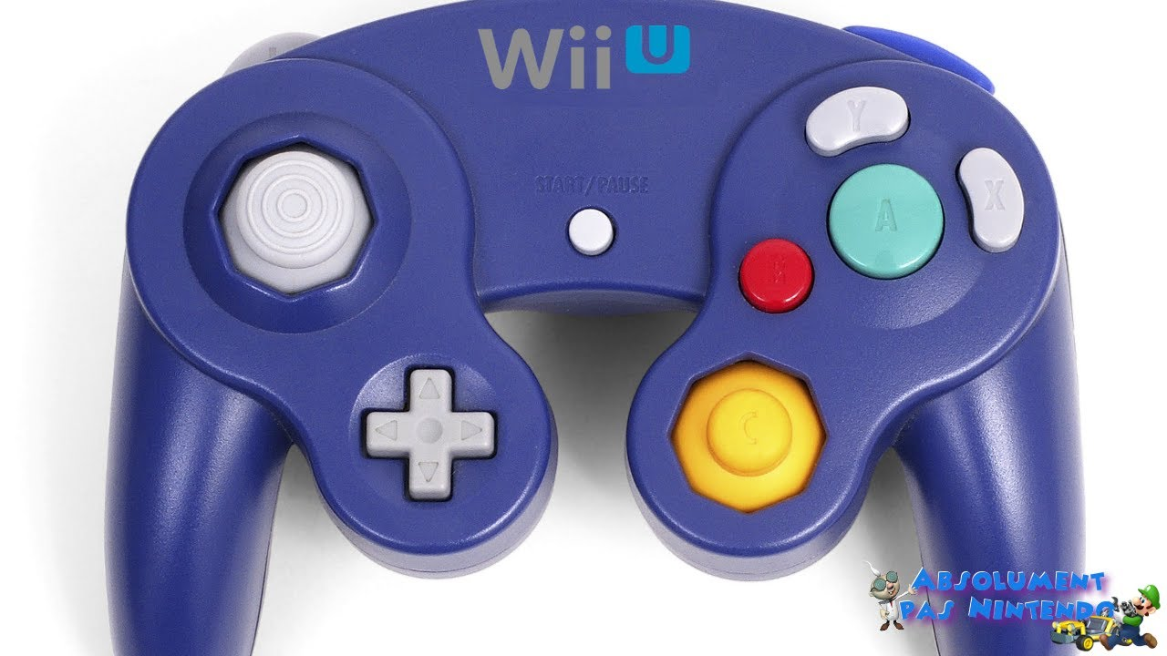 adaptateur manette gamecube pour wii wii u absolument. Black Bedroom Furniture Sets. Home Design Ideas