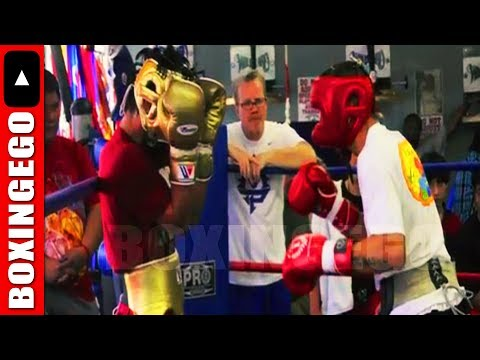 """FREDDIE ROACH WORRIED MANNY PACQUIAO'S PROGRESS: """"THOSE 5 ROUNDS WERE WORST I'VE SEEN PACQUIAO SPAR"""""""