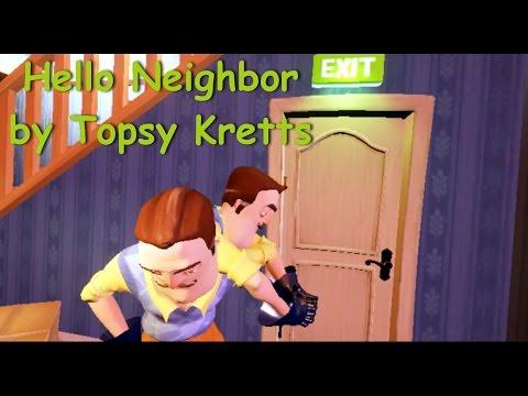 Hello Neighbor Alpha 1 баг два соседа two Neighbors thumbnail
