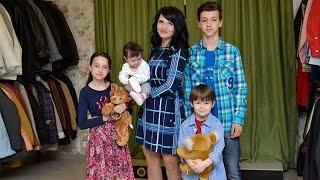 O mama care creste patru copii de una singura a avut parte de emotii, bucurie si lacrimi d ...
