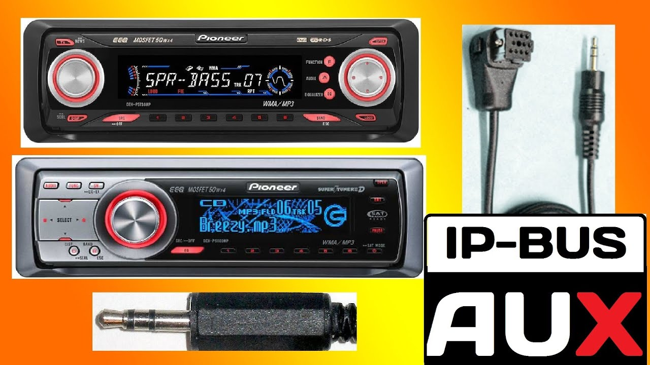 maxresdefault � how to make pioneer ip bus to 3 5 mm aux input cable � youtube deh p6700mp wiring diagram at bayanpartner.co